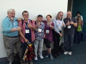 Tom-Sito-Mike-Polvani-Willie-Ito-Leslie-Combemale-Dale-Baer-Randy-Haycock-Disney-Animators-SDCC-panel