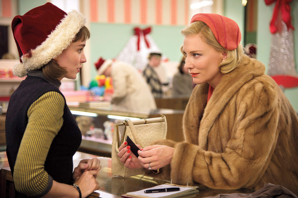 CateBlanchett-RooneyMara-Carol-movie-review
