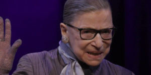 U.S. Supreme Court Justice Ruth Bader Ginsburg in RBG, directed by Betsy West and Julie Cohen. Courtesy of CNN Films.