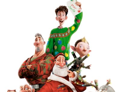 Arthur Christmas Characters.More To Be Thankful For Hugo The Muppets And Arthur