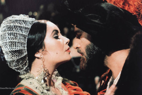 cinema-siren, the-taming-of-the-shrew, shakespeare, elizabeth-taylor, richard-burton, cyril-cusack, michael-york, 1967