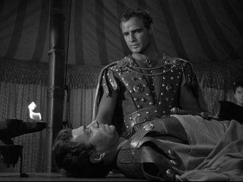 cinema-siren, julius-caesar, marlon-brando, john-gielgud, james-mason, greer-garson, deborah-kerr, 1953