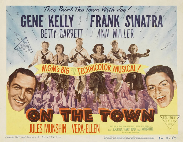 Poster - On the Town_02