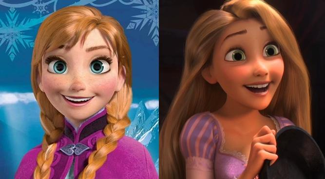 Rapunzel-e-Anna