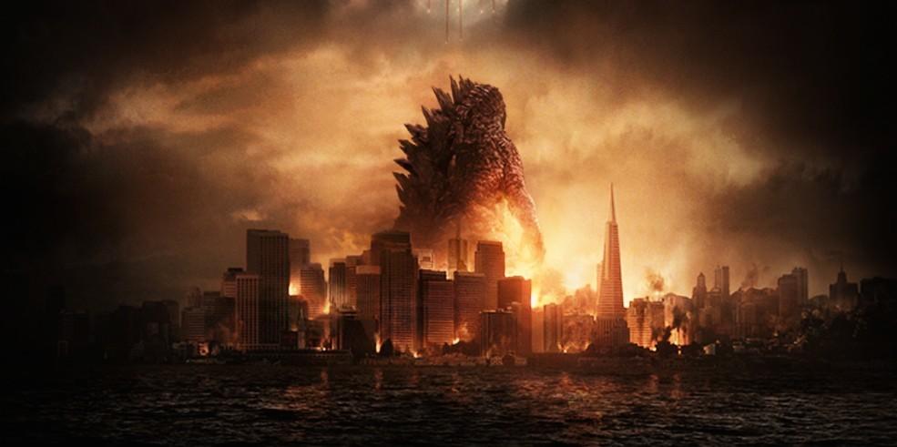 Godzilla skyline