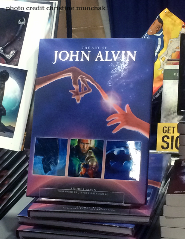 The Art of John Alvin Book Unveiled at SDCC 2014