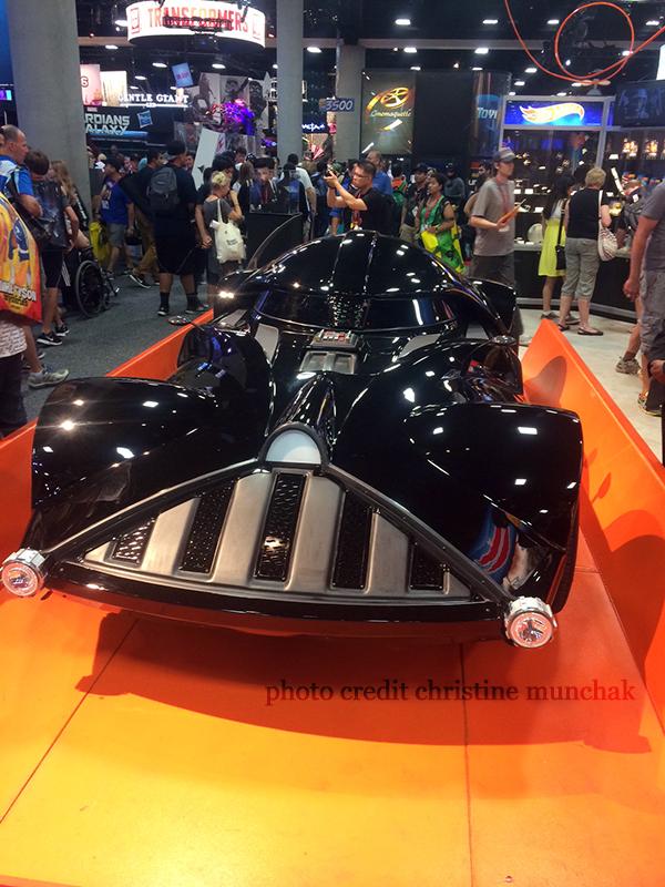 Darth Vader-mobile!