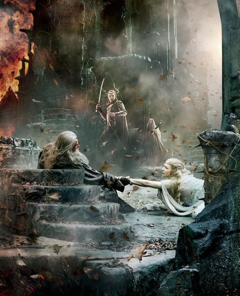 hobbit-battle-five-armies-gandalf-saurman-banner