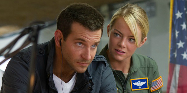 "Bradley Cooper and Emma Stone star in Columbia Pictures' ""Aloha."""