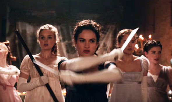Lily-James-Pride-Prejudice-Zombies-movie-review-Cinema-Siren
