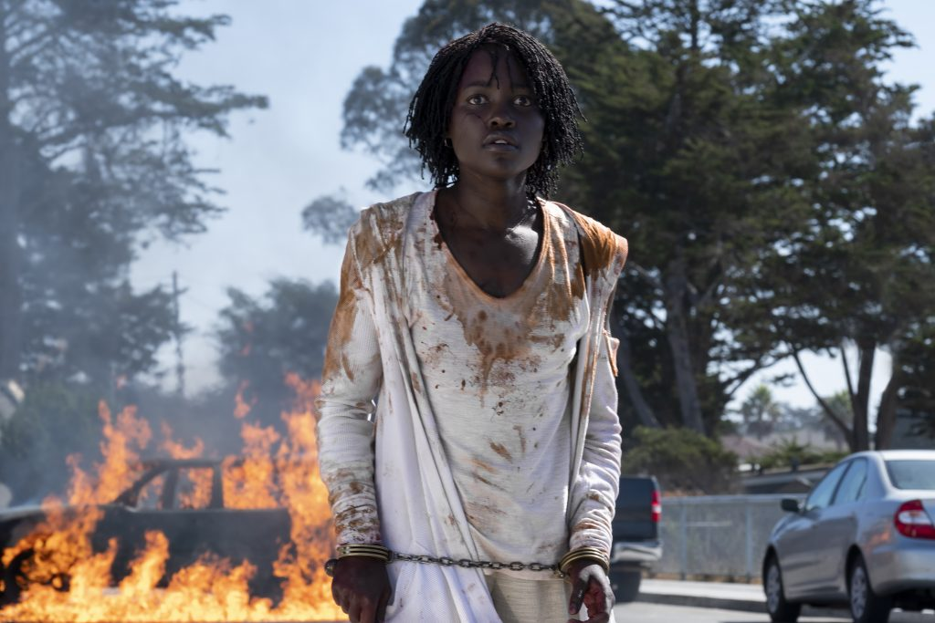 """Lupita Nyong'o as Adelaide Wilson in """"Us,"""" written, produced and directed by Jordan Peele."""